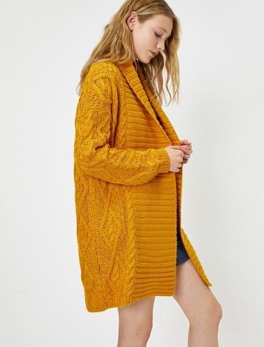 Koton Hırka Sarı